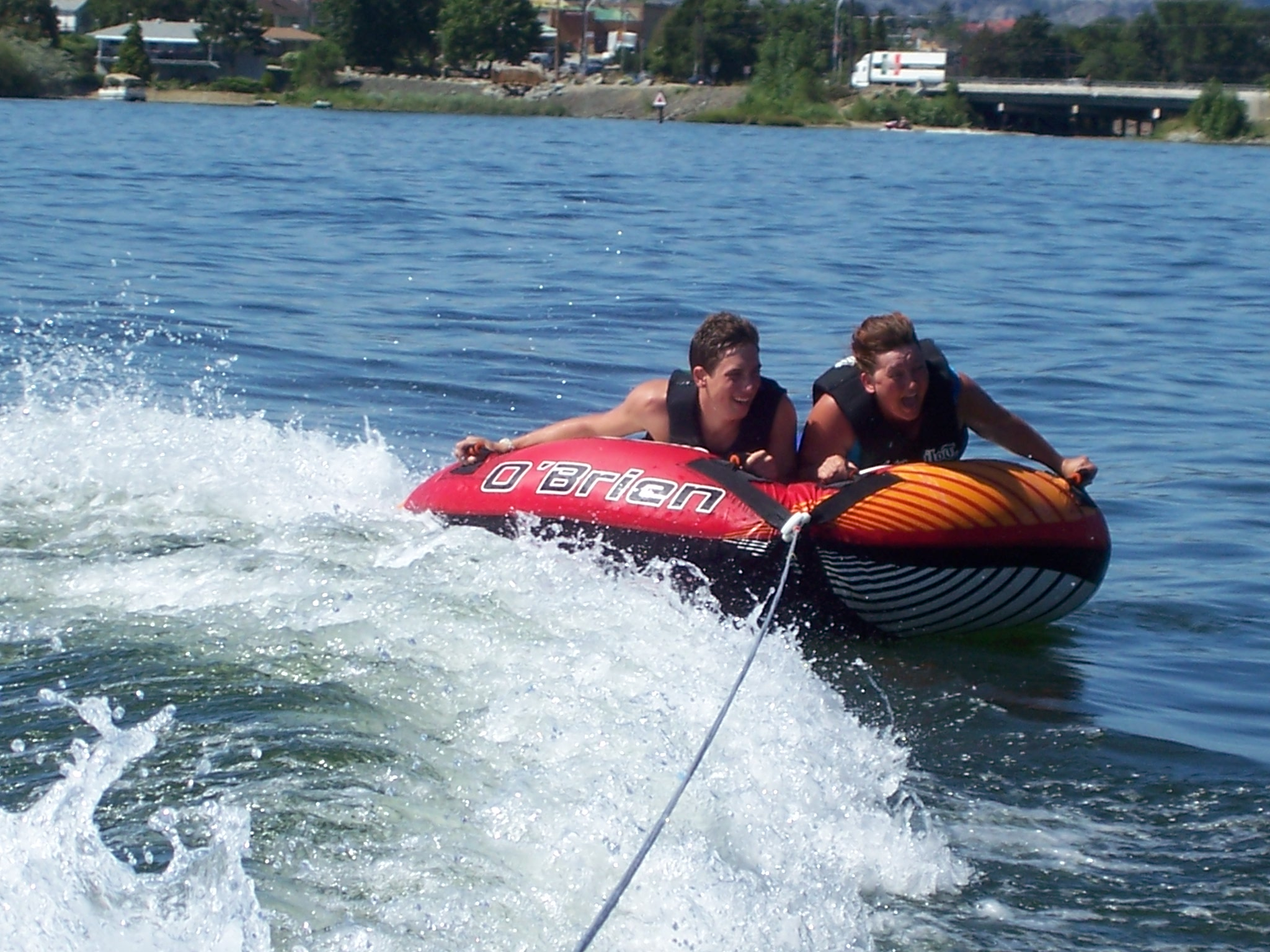 tubing with Wakepilot